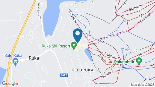 Ski-Inn RukaVillage Map
