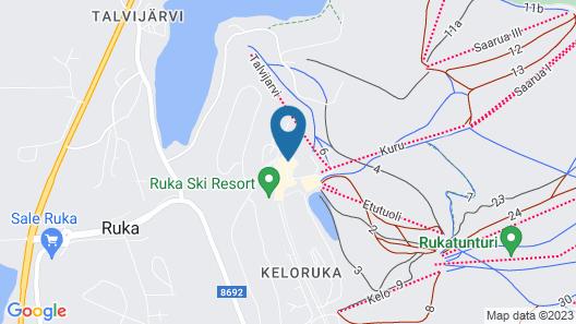 Hotel Arctic Zone Map
