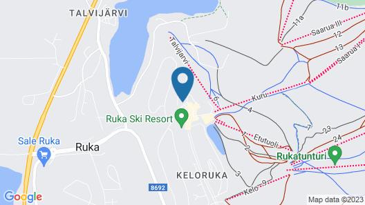 Kumparehuoneistot Map