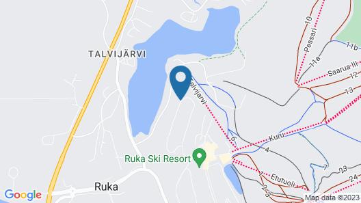 Ski-Inn AurinkoRinne Map