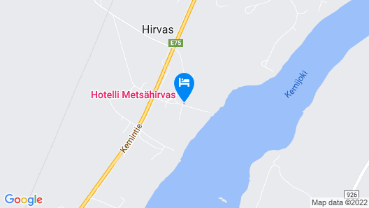 Hotel Metsähirvas Map