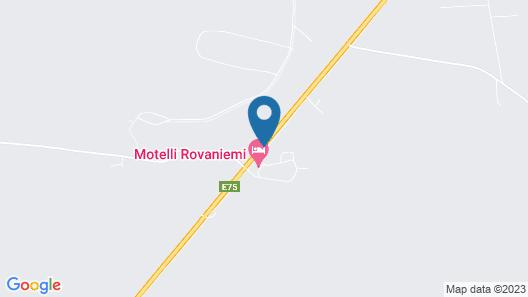 Motelli Rovaniemi Map