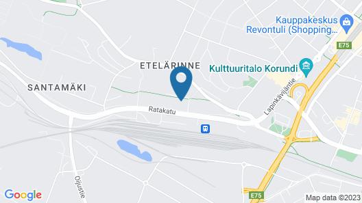 Kotimaailma Apartments Siljotie Map