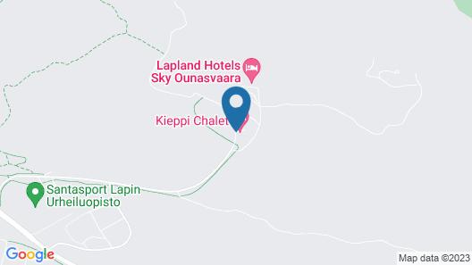 Ounasvaara Lakituvat chalets Map