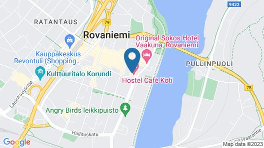 Hostel Café Koti Map