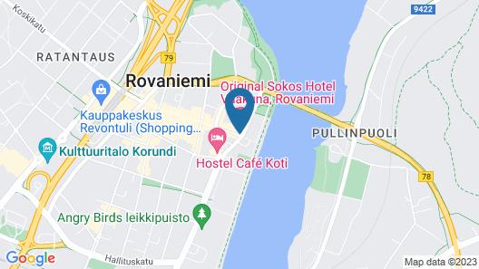 Original Sokos Hotel Vaakuna Rovaniemi Map