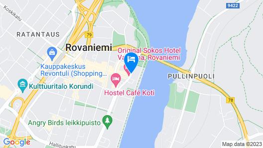 Scandic Pohjanhovi Map