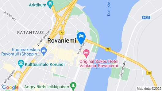Forenom Serviced Apartments Rovaniemi Map