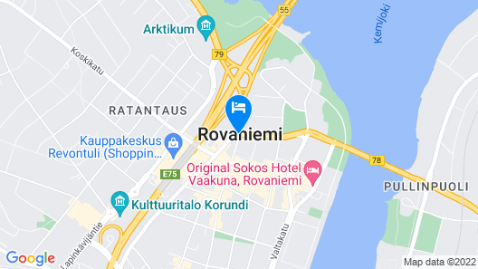 HAAWE Boutique Apart Hotel Map