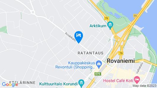 Aakenus Apartments Map