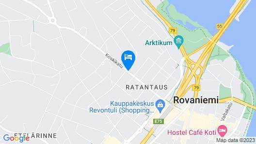 Hotel Aakenus Map