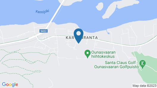 Lapland Hotels Ounasvaara Chalets Map