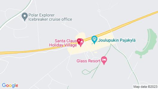 Santa Claus Holiday Village Map