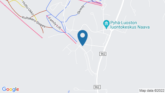 Pyhä Igloos Map