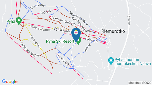 Holiday Club Pyhä Map