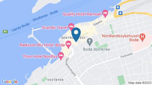 Comfort Hotel Bodo Map