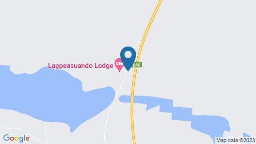 Lappeasuando Lodge Map