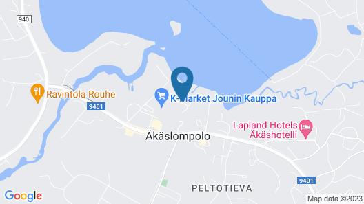 Ylläs Log Cabins Map