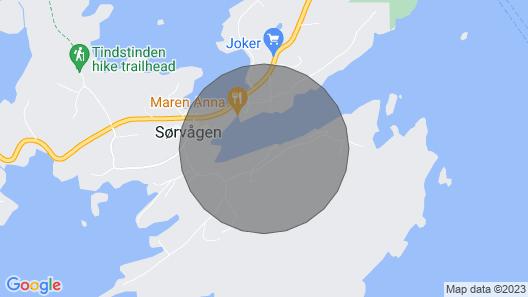 2 Bedroom Accommodation in Sørvågen Map