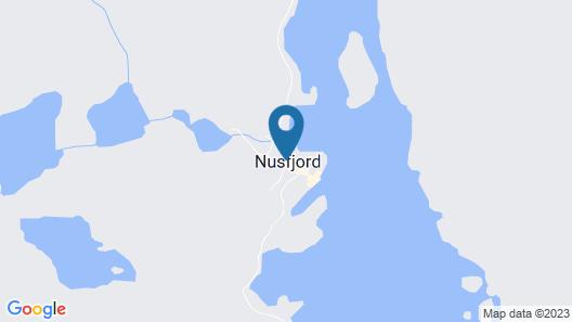 Lofoten Cottages  Map
