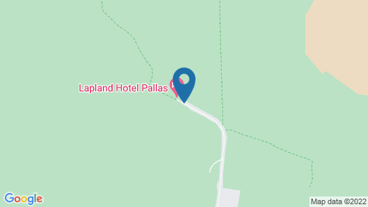 Lapland Hotels Pallas Map