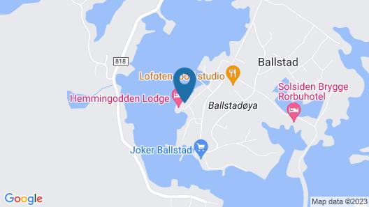 Hemmingodden Lodge Map