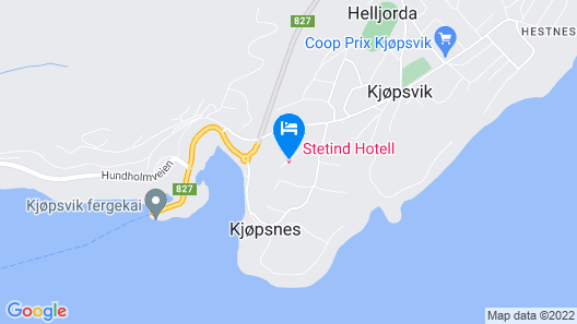 Stetind Hotell Map