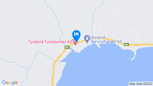 Tysfjord Turistsenter Map