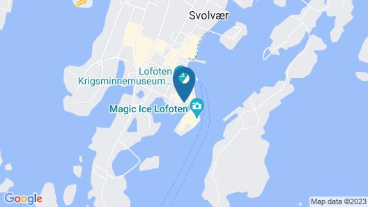 Thon Hotel Svolvær Map