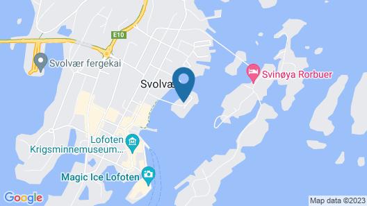 Scandic Svolvær Map