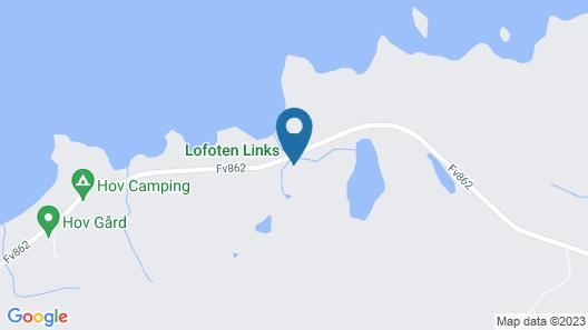 Lofoten Links Lodges Map