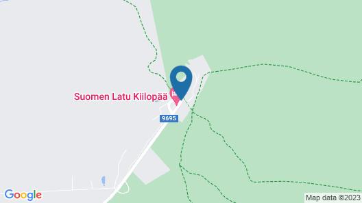 Fell Centre Kiilopää, Hotel Niilanpää Map