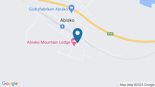 Abisko Fjälltur Map
