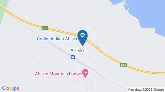 Abisko Turiststation STF Map
