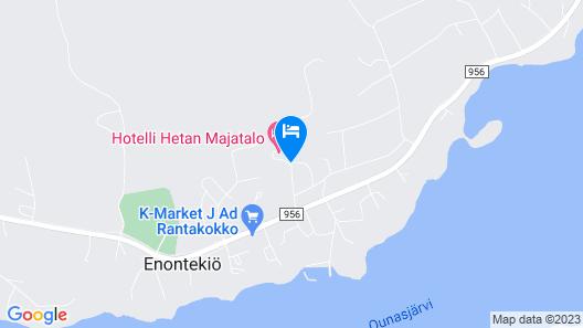 Hotel Hetan Majatalo Map