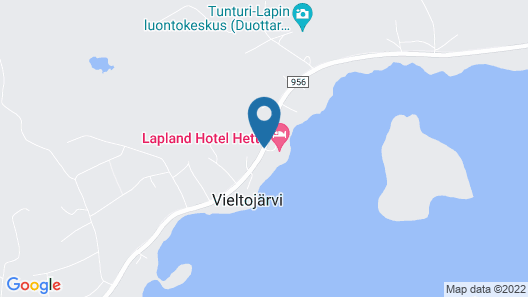 Lapland Hotels Hetta Map