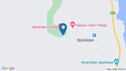 Hotell Fjället Map