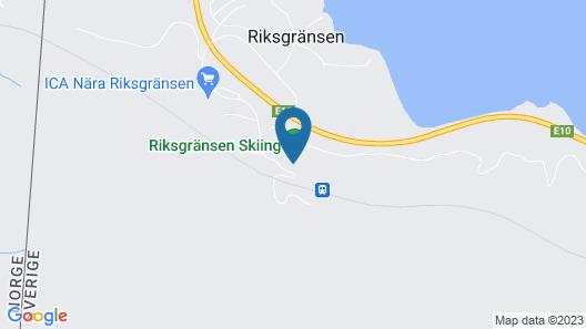Hotell Riksgränsen Map