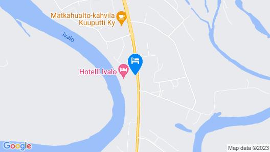 Hotelli Ivalo Map
