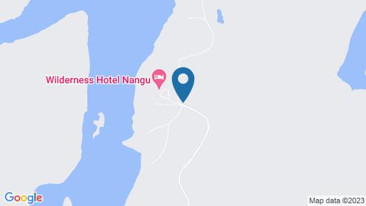 Wilderness Hotel Nangu Map