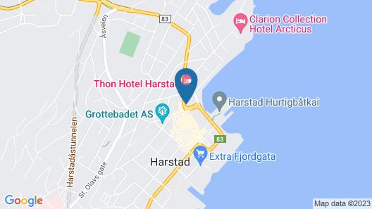Scandic Harstad Map