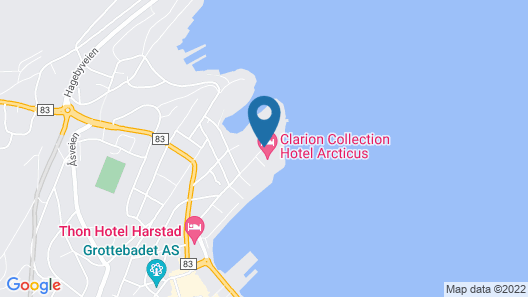 Clarion Collection Hotel Arcticus Map