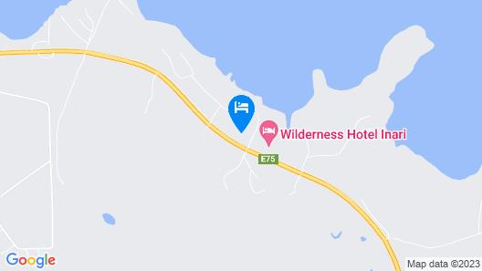 Wilderness Hotel Inari & Igloos Map