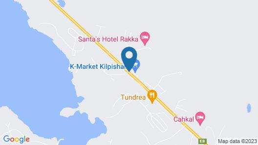 Lapland Hotels Kilpis Map