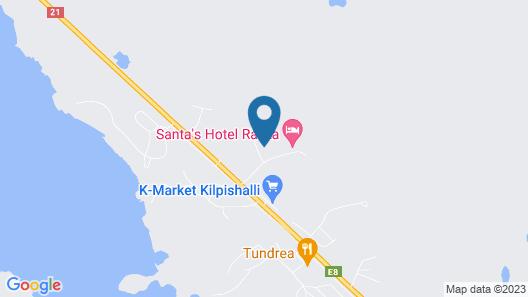 Santa's Chalets Rakka Map