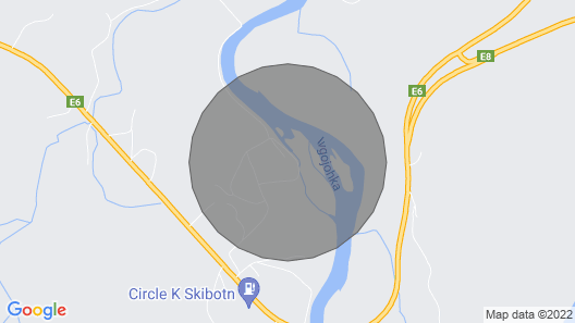 4 star holiday home in Skibotn Map