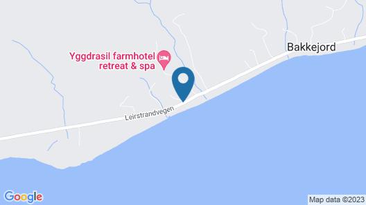 Yggdrasiltunet Gårdshotell Map