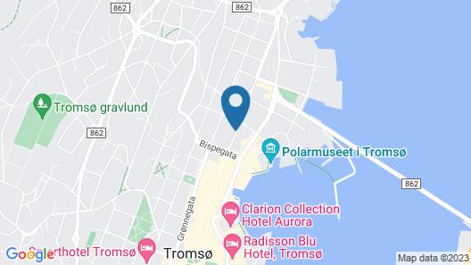Skansen Hotell Map