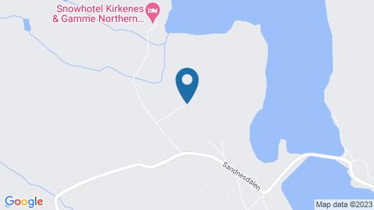 Snowhotel Kirkenes  Map