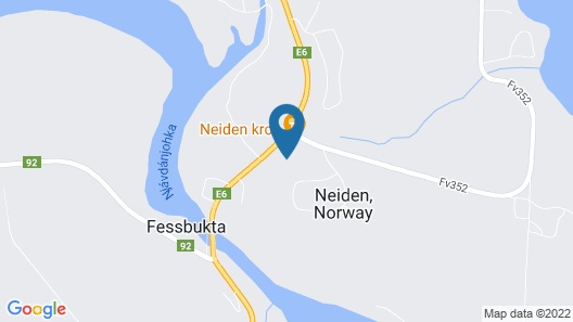 Neiden Hotel & Guesthouse Map